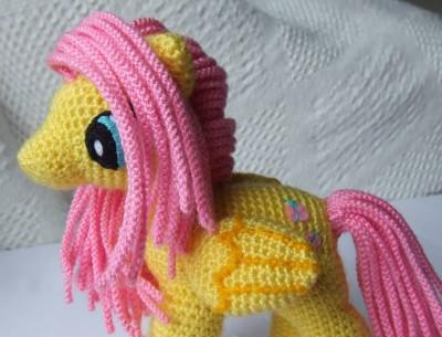 crochet-my-little-pony-yellow